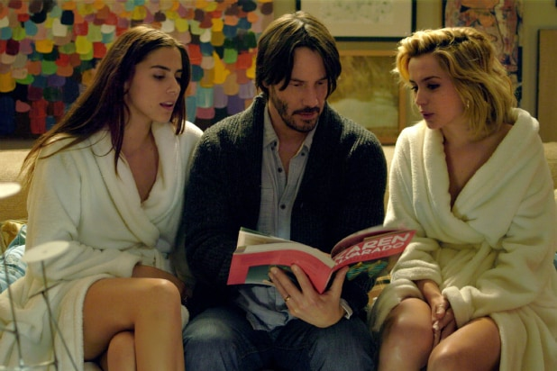 'Knock Knock' Review: Keanu Reeves Opens His Door to Two ...