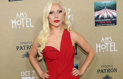 LOS ANGELES, CA - OCTOBER 03: Actress/singer Lady Gaga attends the premiere screening of FX's 'American Horror Story: Hotel' at Regal Cinemas L.A. Live on October 3, 2015 in Los Angeles, California. (Photo by Jason Merritt/Getty Images)