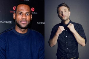 LeBron James Chris Hardwick