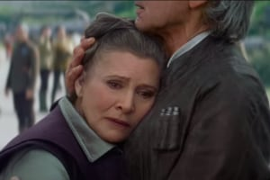 carrie fisher princess leia Star Wars The Force Awakens Star Wars Episode 8