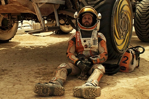 MARTIAN SUNDAY matt damon