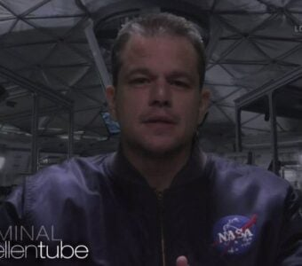 Matt Damon The Martian Ellen Parody