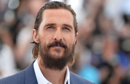 "CANNES, FRANCE - MAY 16:  Actor Matthew McConaughey attends a photocall for ""The Sea Of Trees"" during the 68th annual Cannes Film Festival on May 16, 2015 in Cannes, France.  (Photo by Pascal Le Segretain/Getty Images)"