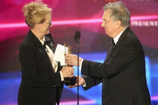 Meryl Streep with Stephen Frears (Getty Images)