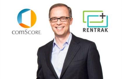 Niesen CEO Mitch Barnes ComScore Rentrak