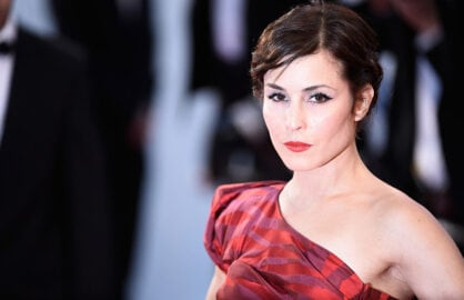 "CANNES, FRANCE - MAY 16:  Noomi Rapace attends the Premiere of ""The Sea Of Trees"" during the 68th annual Cannes Film Festival on May 16, 2015 in Cannes, France.  (Photo by Ian Gavan/Getty Images)"