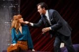 """Kelly Reilly and Clive Owen in """"Old Times"""" (Photo: Joan Marcus)"""