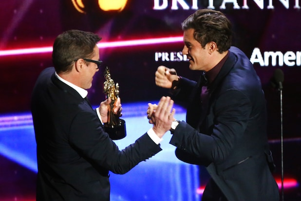 Robert Downey Jr. and Orlando Bloom (Getty Images)