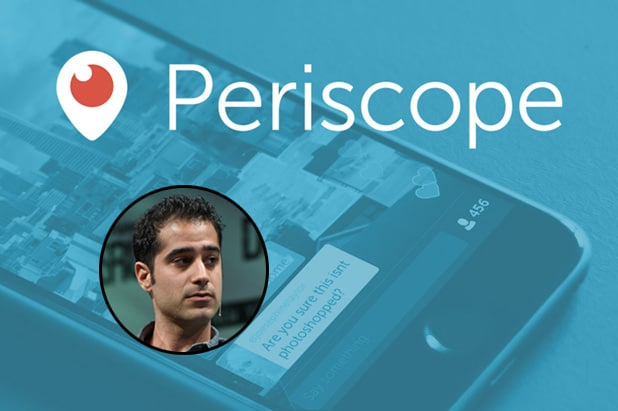 Kayvon Beykpour, Periscope CEO & Co-Founder