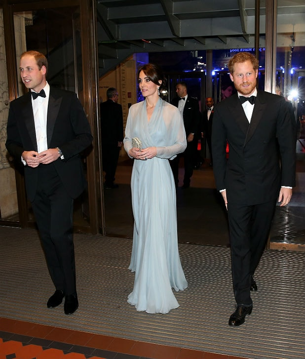 Prince William, Duchess Kate and Prince Harry (Getty Images)