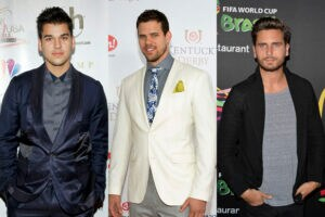 Rob Kardashian Kris Humphries Scott Disick