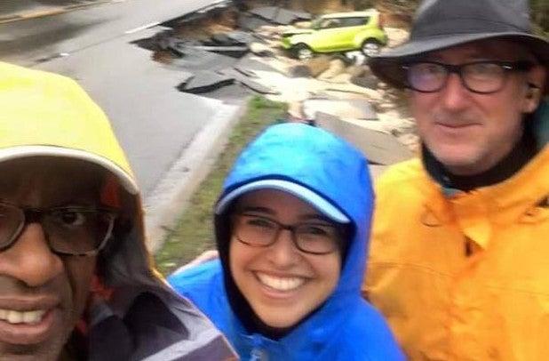 Al Roker: NBC weatherman apologizes for taking smiling selfie amid flood