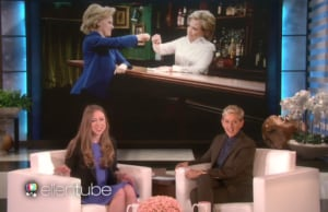 Chelsea Clinton on Ellen