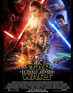 Star Wars the Force Awakens Poster Long