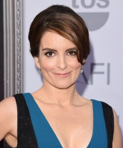 HOLLYWOOD, CA - JUNE 04:  Actress Tina Fey attends the 2015 AFI Life Achievement Award Gala Tribute Honoring Steve Martin at the Dolby Theatre on June 4, 2015 in Hollywood, California. 25292_001  (Photo by Jason Merritt/Getty Images for Turner Image)