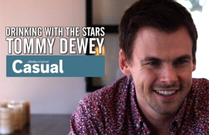 Tommy Dewey Drinking With the Stars