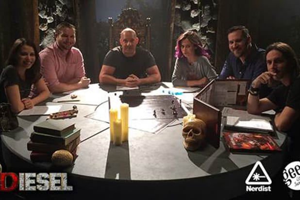 Vin Diesel Plays a Round of Dungeons & Dragons for 'D&Diesel' (Video)