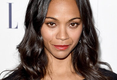 LOS ANGELES, CA - OCTOBER 19:  Actress Zoe Saldana attends the 22nd Annual ELLE Women in Hollywood Awards at Four Seasons Hotel Los Angeles at Beverly Hills on October 19, 2015 in Los Angeles, California.  (Photo by Jason Merritt/Getty Images)