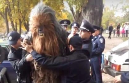 chewbacca arrest
