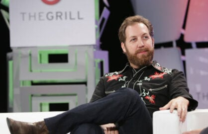 Chris Sacca speaks during TheWrap's 6th Annual Grill Conference at Montage Beverly Hills on October 5, 2015 in Beverly Hills, California.