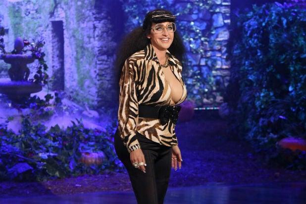 Ellen DeGeneres Creates New Kardashian Sister for Halloween (Video)