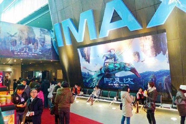 china box office IMAX