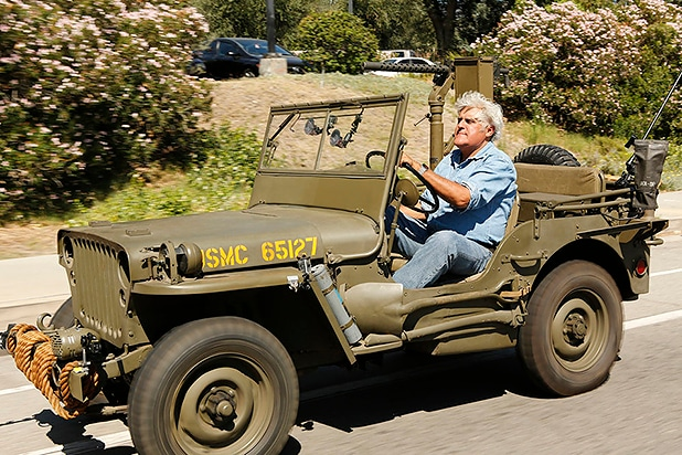 Jay Leno S Garage Stalls Out In Week 2 Ratings