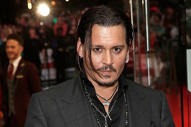 Johnny Depp the walking dead