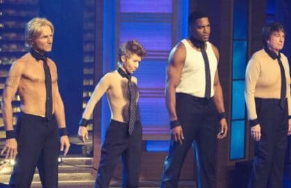 kelly ripa michael strahan halloween magic mike