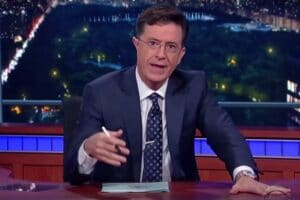 stephen colbert late show oregon shooting