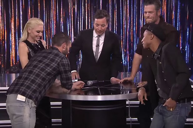 1d19a320a36  The Voice  Coaches Sing Karaoke with Jimmy Fallon (Video)