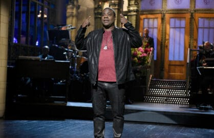"SATURDAY NIGHT LIVE -- ""Tracy Morgan"" Episode 1686 -- Pictured: Tracy Morgan during the monologue on October 17, 2015 -- (Photo by: Dana Edelson/NBC)"