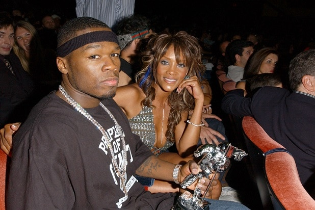 Image result for 50 Cent Slams Ex-Girlfriend Vivica A. Fox