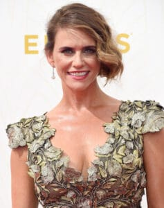 LOS ANGELES, CA - SEPTEMBER 20:  Actress Amy Landecker attends the 67th Annual Primetime Emmy Awards at Microsoft Theater on September 20, 2015 in Los Angeles, California.  (Photo by Frazer Harrison/Getty Images)