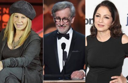 Steven Spielberg, Barbara Streisand and Gloria Estefan to receive the Presidential Medal of Freedom