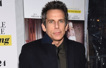 "NEW YORK, NY - MARCH 23:  Actor Ben Stiller attends the ""While We're Young"" New York Premiere at Paris Theater on March 23, 2015 in New York City.  (Photo by Dimitrios Kambouris/Getty Images)"