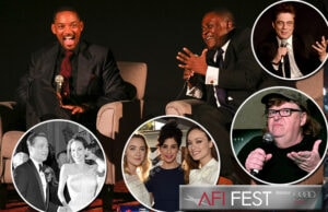 COVER - Will Smith Concussion Sarah Silverman Brad Pitt Angelina Jolie AFI Fest Presented by Audi