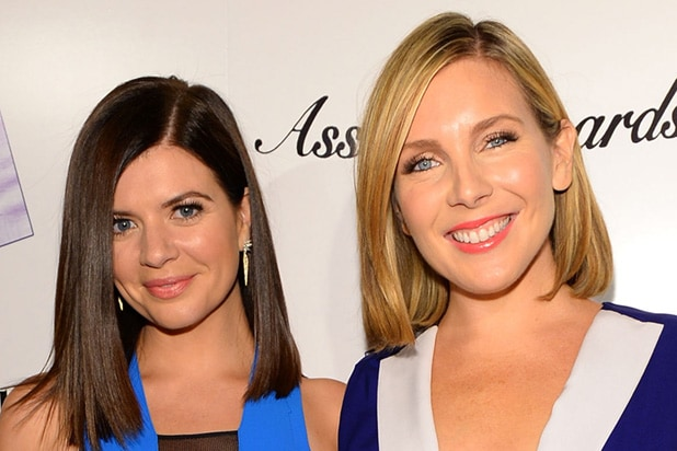 Casey wilson and june diane raphael show their butts 5