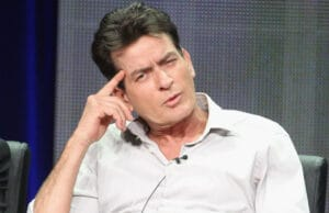 """BEVERLY HILLS, CA - JULY 28:  Actor Charlie Sheen speaks onstage at the """"Anger Management"""" panel during the FX portion of the 2012 Summer TCA Tour on July 28, 2012 in Beverly Hills, California.  (Photo by Frederick M. Brown/Getty Images)"""