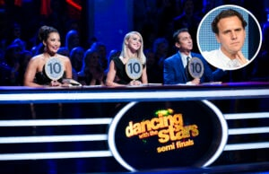 Dancing With the Stars Judges CARRIE ANN INABA, JULIANNE HOUGH, BRUNO TONIOLI
