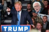 Donald Trump and Bernie Sanders