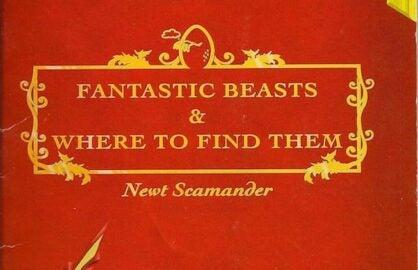 Fantastic Beasts Book Cover