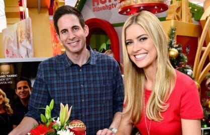 "Tarek El Moussa and wife Christina on HGTV's ""Flip or Flop"""
