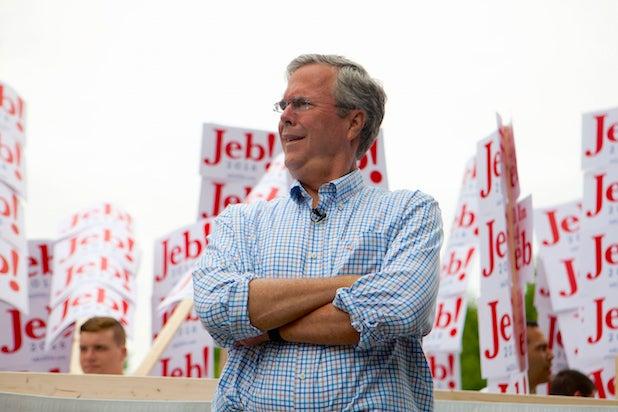 Jeb Bush TV ad spending