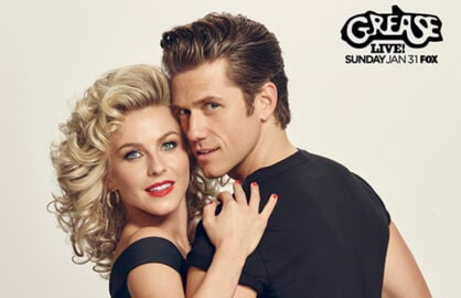 Grease Live Julianne Hough Aaron Tveit