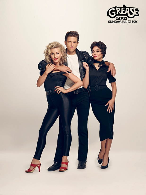 Grease Live Julianne Hough Aaron Tveit Vanessa Hudgens