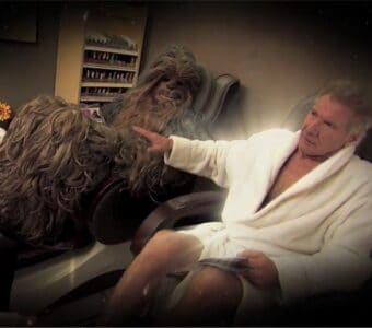 Harrison Ford Chewbacca