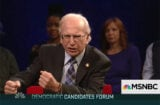 Larry David Bernie Sanders SNL