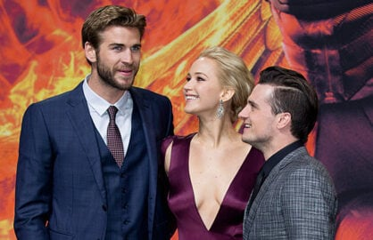 Liam-Hemsworth,-Jennifer-Lawrence,-Josh-Hutcherson-Hunger-Games