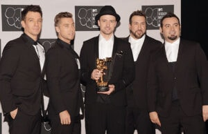 Nsync react to Adele breaking their record